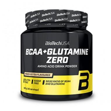 BIOTECH USA BCAA + GLUTAMINA ZERO 480g
