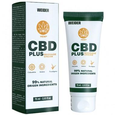 WEIDER CBD Cream - Crema de Masaje 75ml