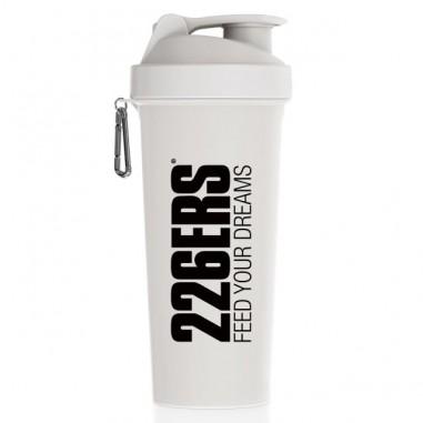 226ERS Shaker 1 Litro White Black Logo