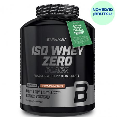 BIOTECH USA ISO WHEY ZERO BLACK 2270 GRS