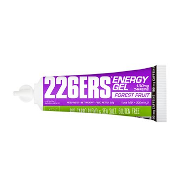 ENERGY GEL BIO 25GR 100mg CAFFEINE FOREST FRUITS*