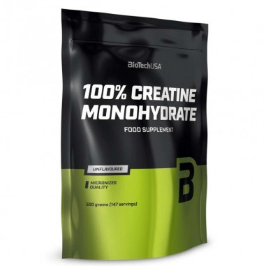 BIOTECH USA 100% Creatina Monohidrato 500grs