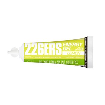 ENERGY GEL BIO 25GR 25mg CAFEINA LIMON