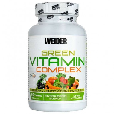 WEIDER GREEN VITAMIN COMPLEX 90 TABLETS