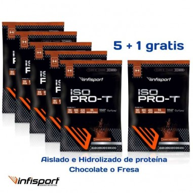 PACK INFISPORT ISO PRO-T SOBRES 30GRS
