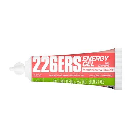 ENERGY GEL BIO 25GR SIN CAFEINA FRESA Y PLATANO