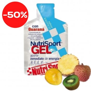 NUTRISPORT GEL CON GUARANA 40GRS