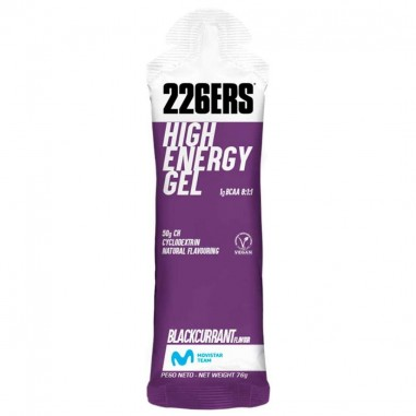 226ers HIGH ENERGY GEL CON BCAAS 60 ML