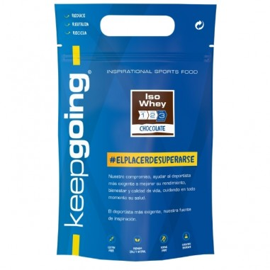 KEEPGOING ISO Whey Protein 1kg
