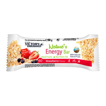 Natures Energy Bar Fresa