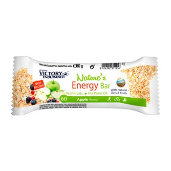 NATURES ENERGY BAR MANZANA 60grs