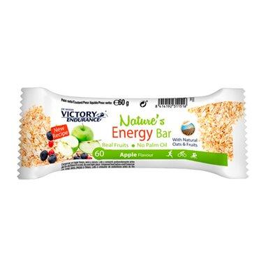 NATURES ENERGY BAR MANZANA 60grs