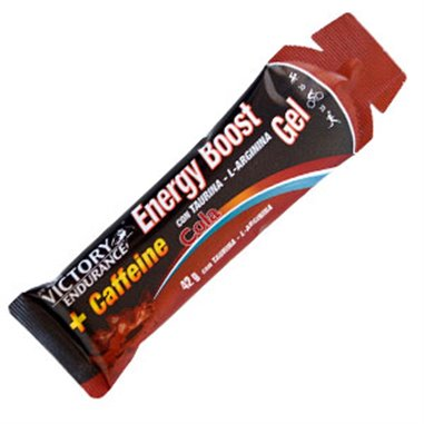 ENERGY BOOST GEL + CAFEÍNA COLA 42grs