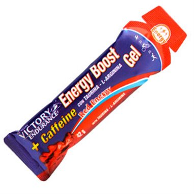 ENERGY BOOST GEL + CAFEÍNA RED ENERGY 42grs