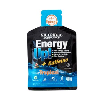 ENERGY UP GEL + CAFEÍNA TROPICAL 40grs
