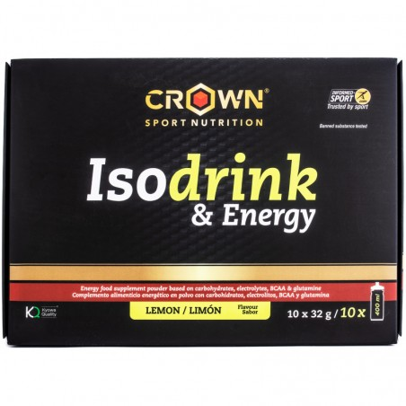 CROWN Sport Nutrition Iso Drink & Energy Monodosis