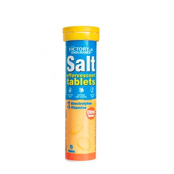 SALT EFFERVESCENT CITRUS 15 tablets