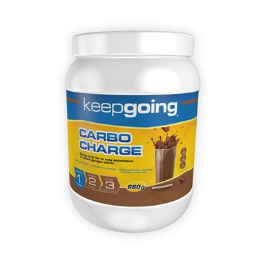 KEEPGOING BEBIDA ENERGÉTICA ENERGY CARBO CHARGE CHOCOLATE 660GRS