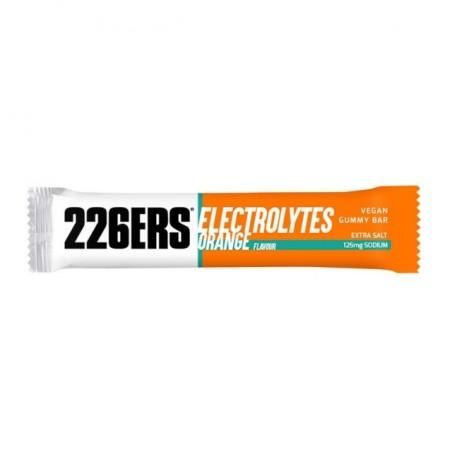 226ERS Vegan Gummy Bar Electrolytes Naranja