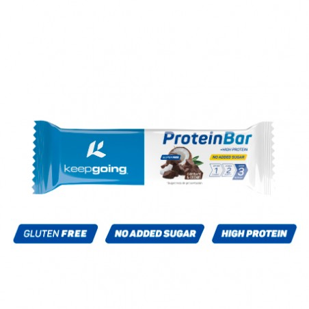 KEEPGOING Protein Bar 40g Chocolate y Coco