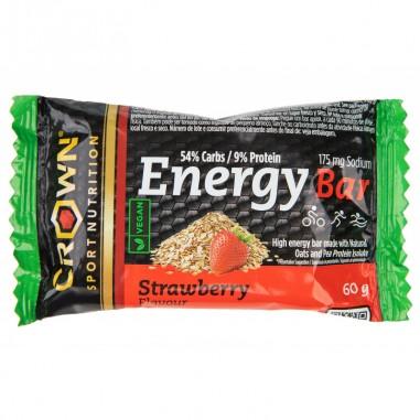 CROWN Sport Nutrition Energy Vegan Bar 60grs