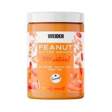 WEIDER Peanut Butter Smooth Crema de Cacahuete 1kg