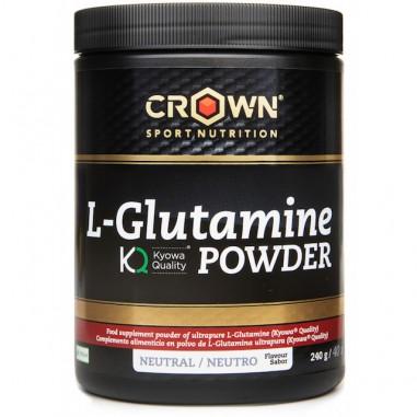 CROWN Sport Nutrition L-Glutamina Kyowa 240grs