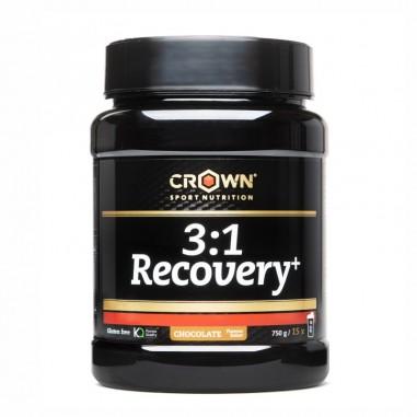 CROWN Sport Nutrition 3:1 Recovery+ con aislado de Whey