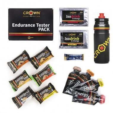 CROWN Sport Nutrition Pack Endurance Tester Bidón 750ml