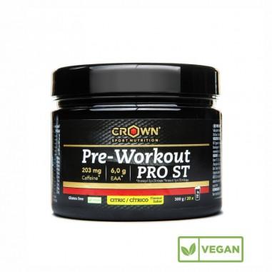 CROWN Sport Nutrition Pre WorkOut Cítrico 300grs
