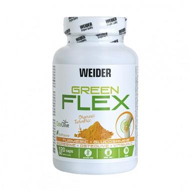 Weider Green Flex 120 caps Vegano