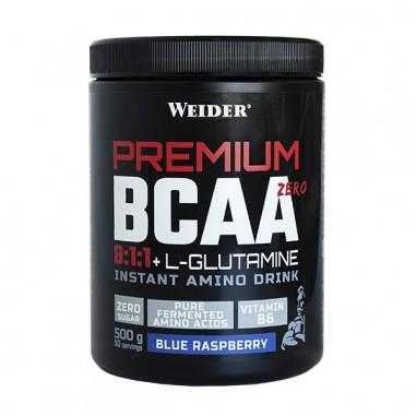 Weider Premium BCAA 8:1:1 Glutamina 550g Blue Rapsberry