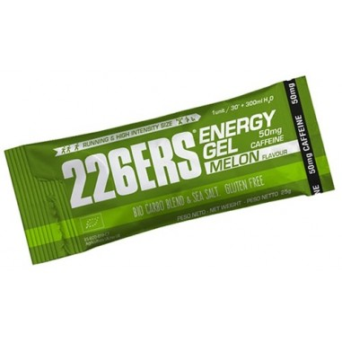 226ERS ENERGY GEL BIO 25gr MELON 50mg CAFEINA STICK