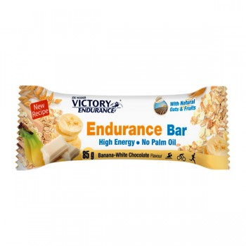 VICTORY ENDURANCE ENDURANCE BAR CHOCOLATE BLANCO BANANA 85grs