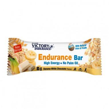 VICTORY ENDURANCE ENDURANCE BAR CHOCOLATE BLANCO BANANA 85grs