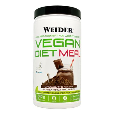 WEIDER VEGAN DIET MEAL 540gr