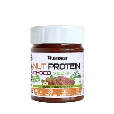 Weider NutProtein Crunchy Vegan Chocolate 250grs