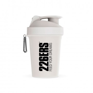 226ERS SHAKER 600ML WHITE BLACK LOGO