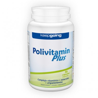 KEEPGOING POLIVITAMIN PLUS 50CAPS